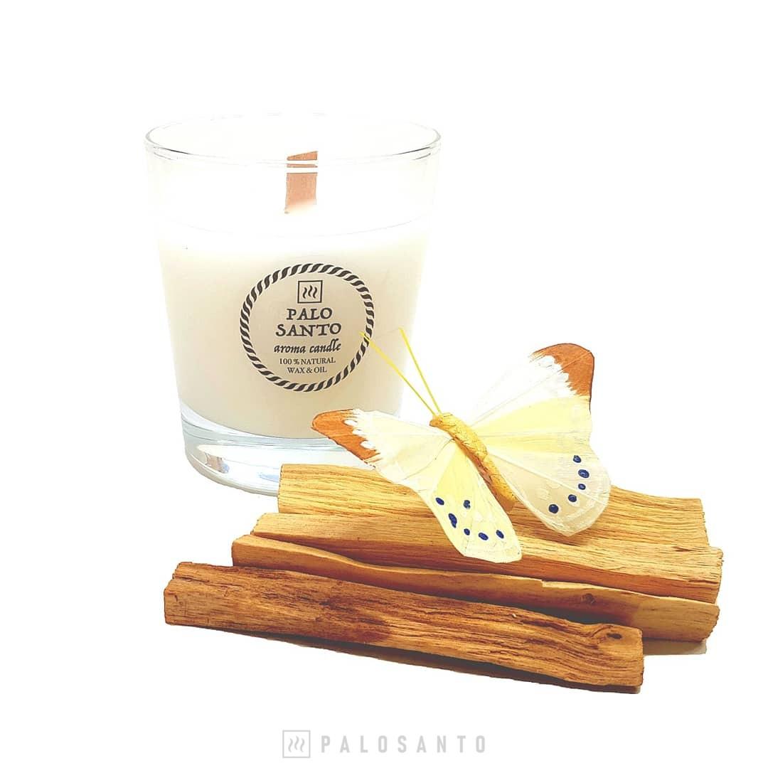 ароматическая свеча пало санто