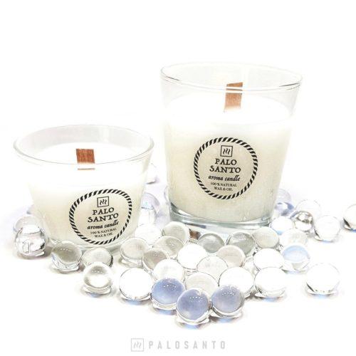 Ароматические свечи в стакане