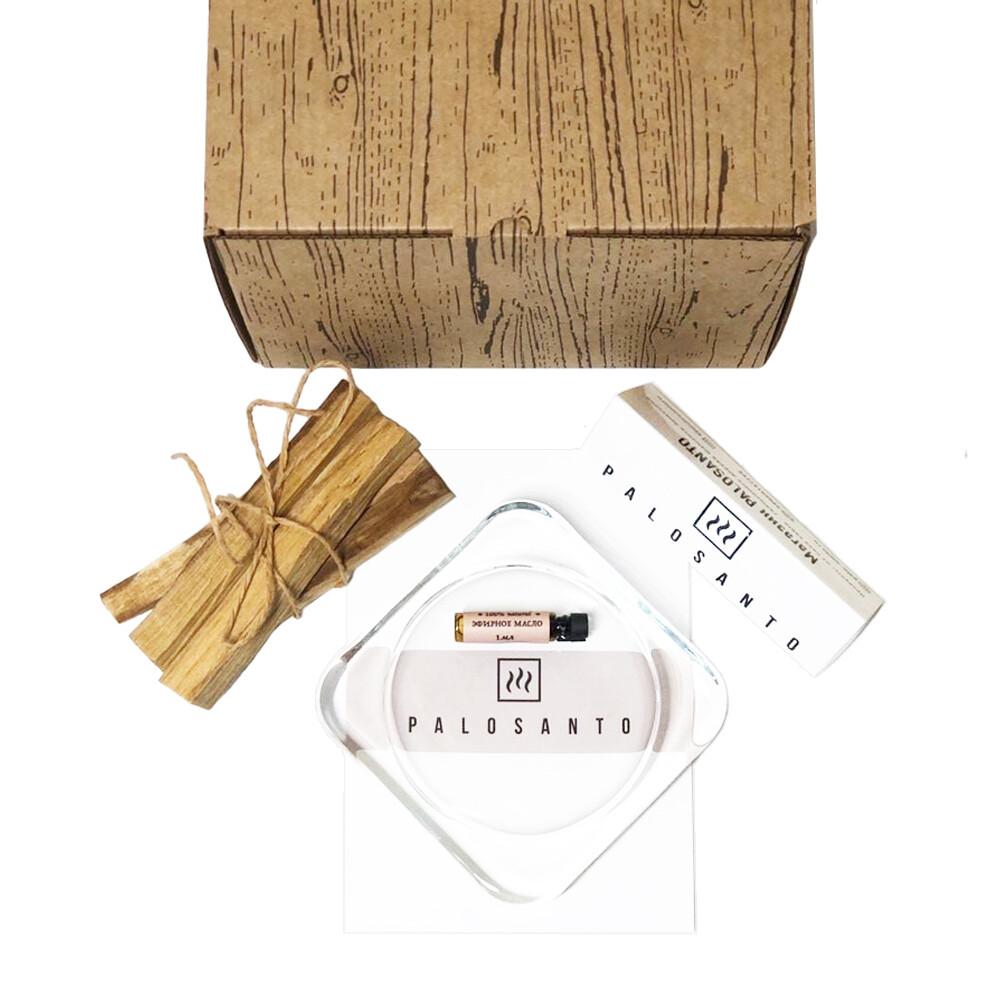 подарочный набор пало санто мини